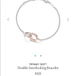 Tiffany Double Interlocking Bracelet